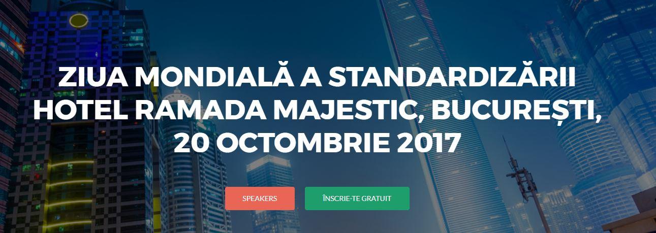 Ziua Mondială a Standardizării 2017