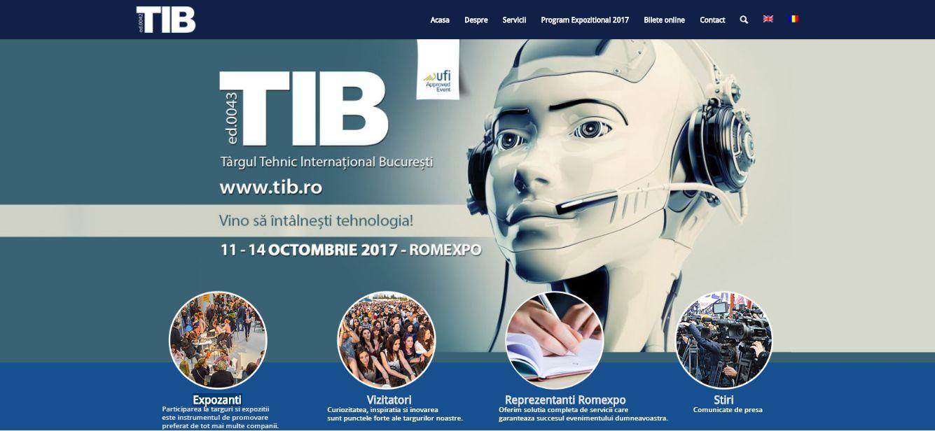 ASRO participă la TIB