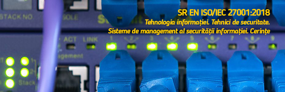 SR EN ISO/IEC 27001:2018