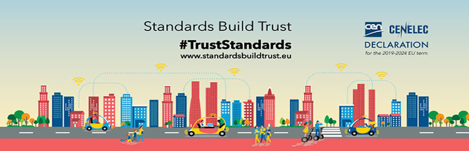 """Standards build trust"" - Declarație CEN/CENELEC pentru alegerile europene"