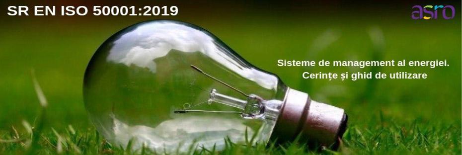 A apărut SR EN ISO 50001:2019