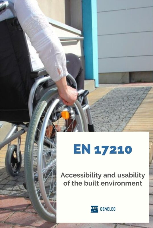 EN 17210 Accessibility in the built environment