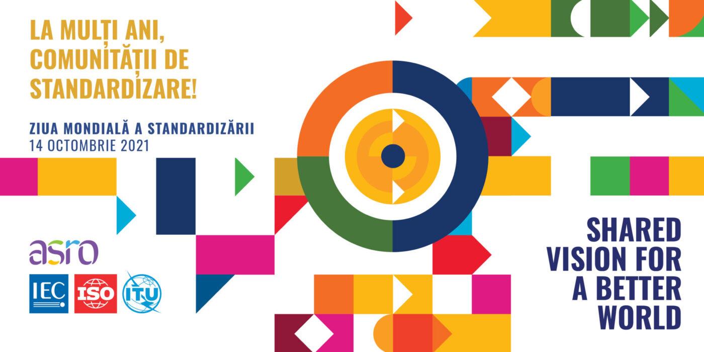 Banner Ziua Mondială a Standardizării 2021